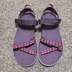 Teva 6.5 Verra Purple Adjustable Sandals